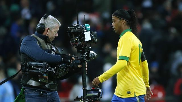 South American Football - Ronaldinho, Pato recalled to experimental Brazil squad