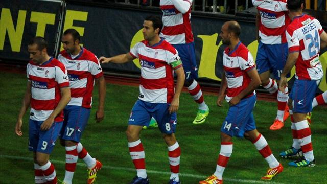 Liga - Granada and Espanyol remain in drop zone after draw