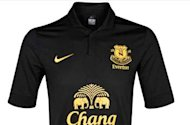 Everton reveal new away kit for 2012-13 season