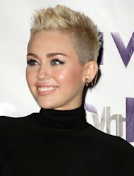Miley Cyrus at the VH1 Divas 2012.