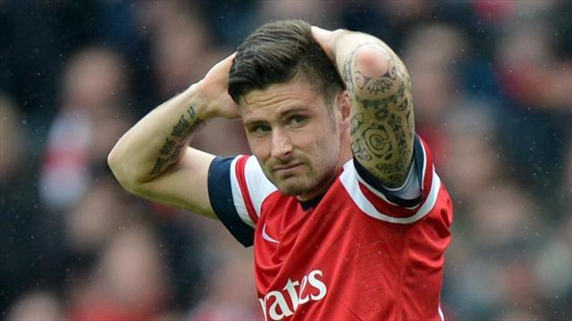Football - Giroud suspension upheld