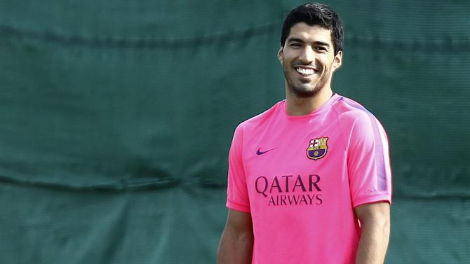 Liga - Suarez 'feels like a footballer again' after return to training