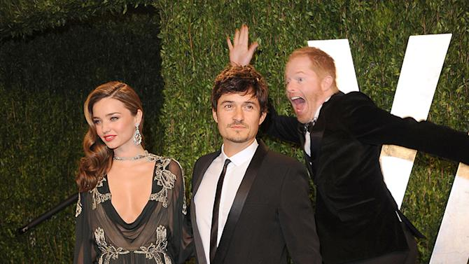 Jesse Tyler Ferguson, Miranda Kerr and Orlando Bloom