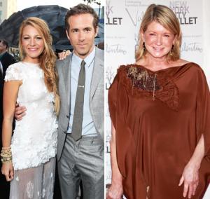 "Martha Stewart: Blake Lively, Ryan Reynolds Looked ""Very Gorgeous"" at Wedding"