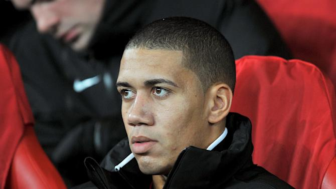 Chris Smalling, pictured, and Phil Jones are getting closer to returning to action
