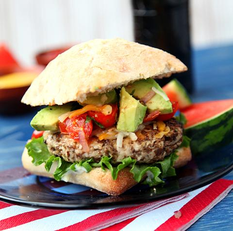 Ultimate Turkey and Black Bean Burgers