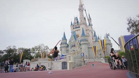 Parkour en Disney World