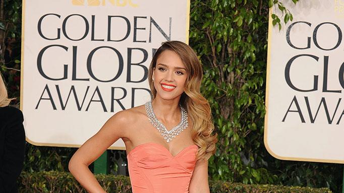 70th Annual Golden Globe Awards - Arrivals: Jessica Alba