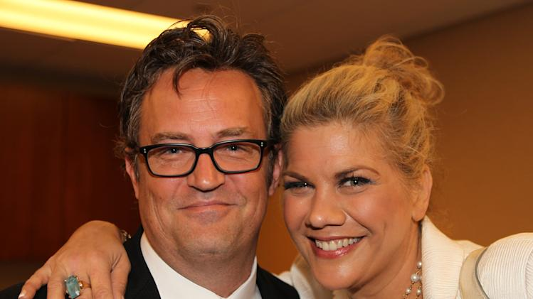IMAGE DISTRIBUTED FOR NATIONAL ASSOCIATION OF DRUG COURT PROFESSIONALS - Actors Matthew Perry and Kristen Johnston show their support for Drug Courts by attending the NADCP 19th Annual Conference on Monday, July 15, 2013 at National Harbor in Ft. Washington, Md. (Paul Morigi/AP Images for National Association of Drug Court Professionals)