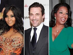 How Much Oprah Winfrey, Snooki, and Other Stars Earn Per Year