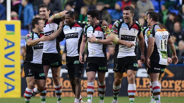 Heineken Cup - Quins aim to clinch top seeding