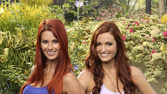 "Jaime Edmondson and Cara Rosenthal, Former NFL Cheerleaders, race around the world for a second chance to win one million dollars, on ""The Amazing Race: Unfinished Business."""