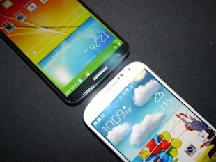 The New Korean War: LG G2 vs. Samsung Galaxy S4 image lg g2 samsung galaxy s4 vs 8.JPG 600x450