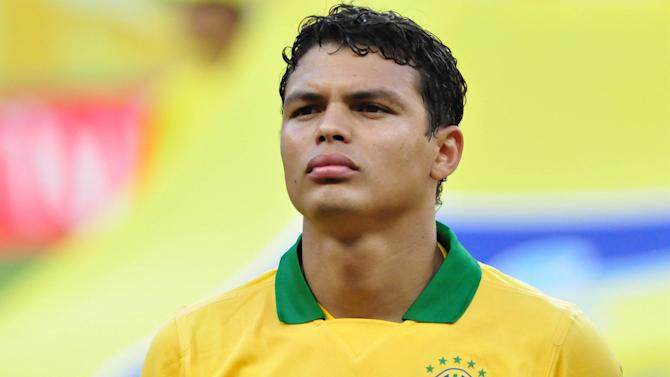 World Cup - Brazil captain Thiago Silva out of Panama friendly