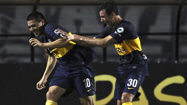 South American Football - Libertadores holders Corinthians ousted by Boca