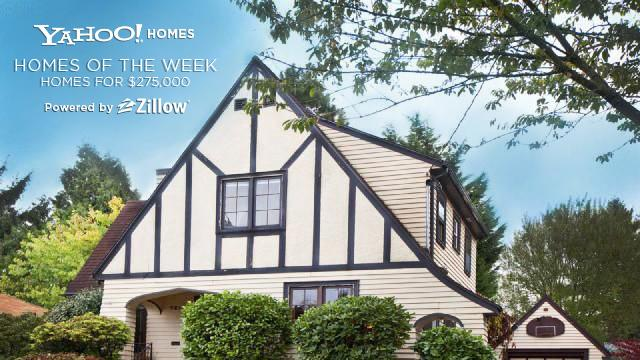 Yahoo! Homes of the Week $275,000 cover