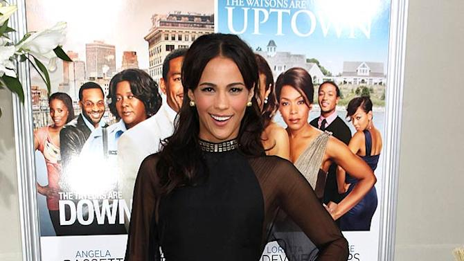 Paula Patton Jumping Broom Pr