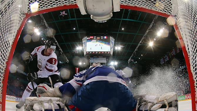 Latvia v France - 2013 IIHF Ice Hockey World Championship