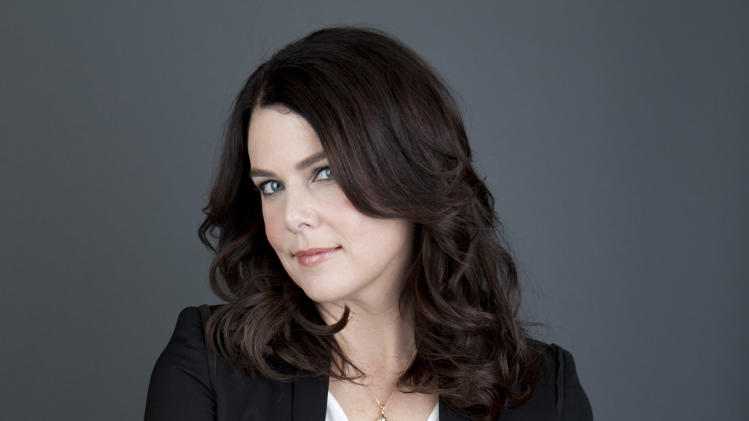 "American actress Lauren Graham poses for a portrait in promotion of her new book, ""Someday, Someday, Maybe: A Novel,"" on Tuesday, April 30, 2013 in New York. (Photo by Amy Sussman/Invision/AP)"