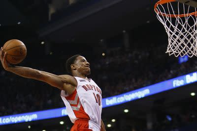 NBA schedule and results: Raptors top Rockets, Lakers hurt lottery chances