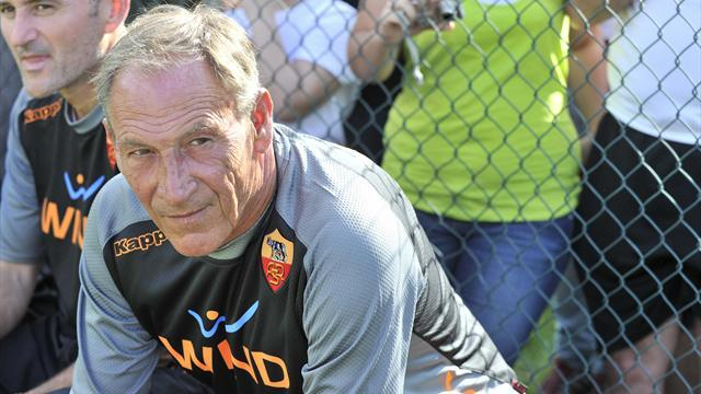 Outspoken Roma coach Zeman goes on the attack