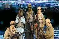 A video grab shows members of Jama'atu Ansarul Muslimina fi Biladis Sudan, the radical Islamist group known as Ansaru, is shown in November 2012
