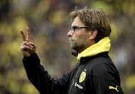 Borussia Dortmund head coach Juergen Klopp, pictured during a Bundesliga match in Dortmund, on May 18, 2013. The all-German Champions League final between Borussia Dortmund and Bayern Munich on Saturday marks the culmination of an intensifying and increasingly bitter rivalry