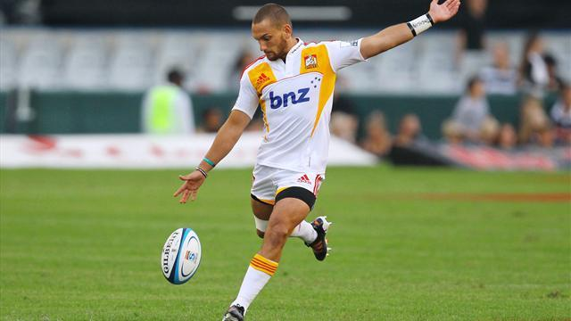 Super Rugby - Cruden named co-captain of Chiefs with Messam