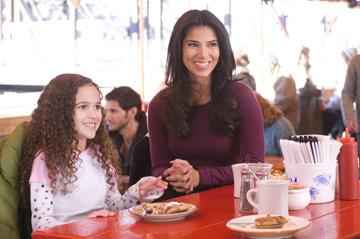 Madison Pettis and Roselyn Sanchez in Walt Disney Pictures' The Game Plan