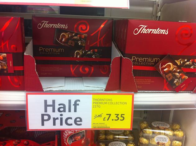 Tesco's confusing 'half price' label