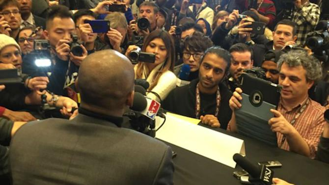 NBA All-Star Media Day had Crying MJ, Valentine's Day advice and more
