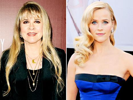 """Stevie Nicks: Reese Witherspoon Is """"Almost Too Old"""" to Play Me in a Biopic"""