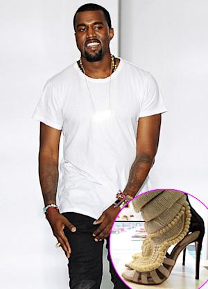 Kanye West's $5,800 Giuseppe Zanotti Shoes Go on Sale