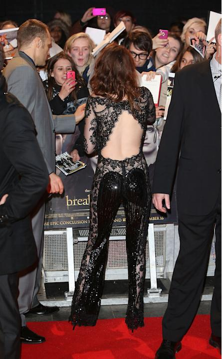 The Twilight Saga: Breaking Dawn Part 2 - UK Premiere - Arrivals