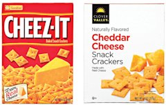 Cheez-It vs. Clover Valley