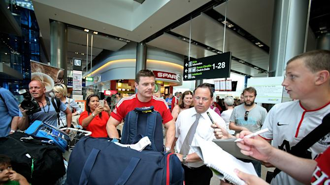 Rugby Unions - British and Irish Lions Squad Return - Dublin Airport