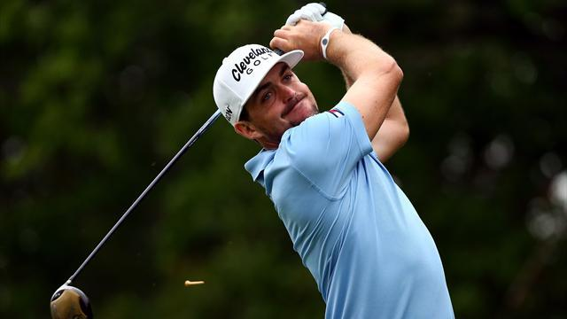 Golf - Bradley remains in charge despite late bogey