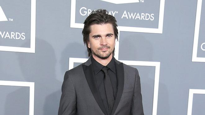 The 55th Annual GRAMMY Awards - Red Carpet: Juanes