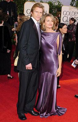 Denis Leary and wife Ann Lembeck 62nd Annual Golden Globe Awards - Arrivals Beverly Hills, CA - 1/16/05