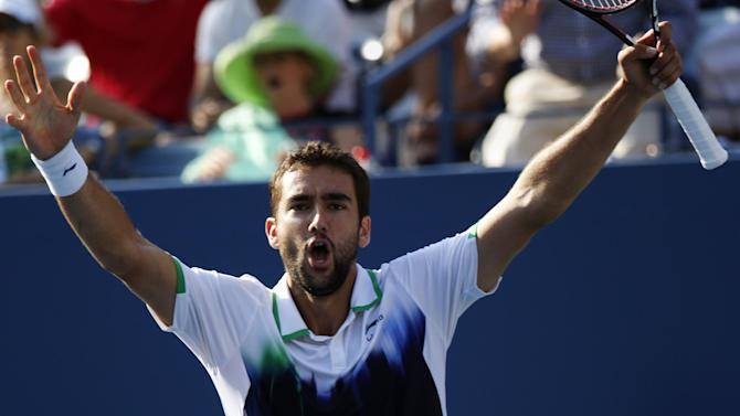 US Open - Cilic blasts way past Berdych into semi-finals