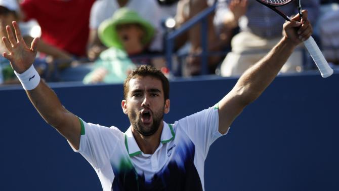 US Open - Cilic blasts way past Berdych into semi-finals