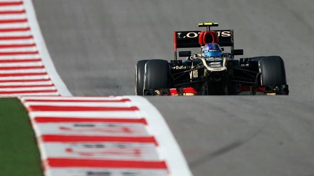 2013 GP of United States of America Lotus Grosjean