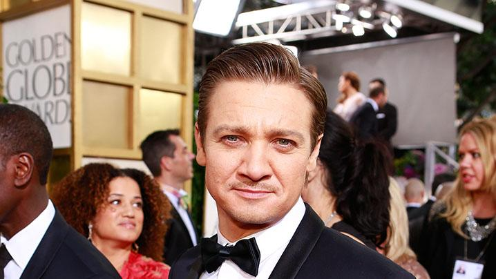 "NBC's ""70th Annual Golden Globe Awards"" - Red Carpet Arrivals: Jeremy Renner"