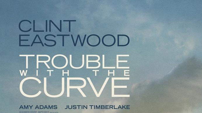 Trouble With The Curve Poster