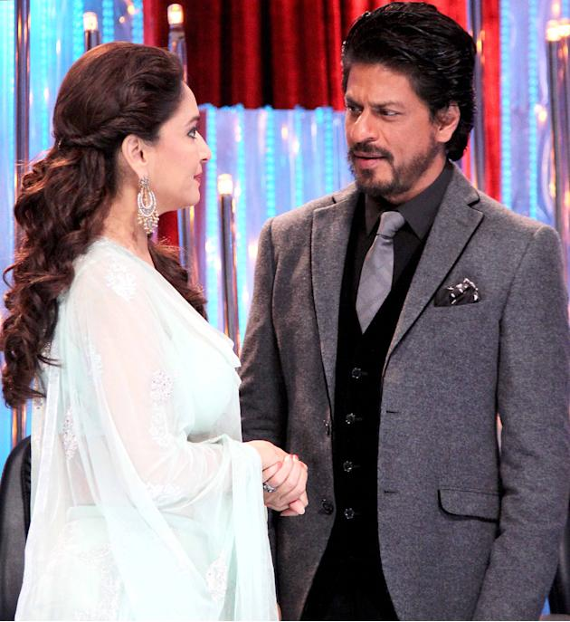 SRK and Madhuri rekindle their romance