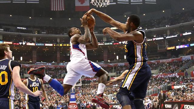 Basketball - Clippers rebound with big win over Jazz