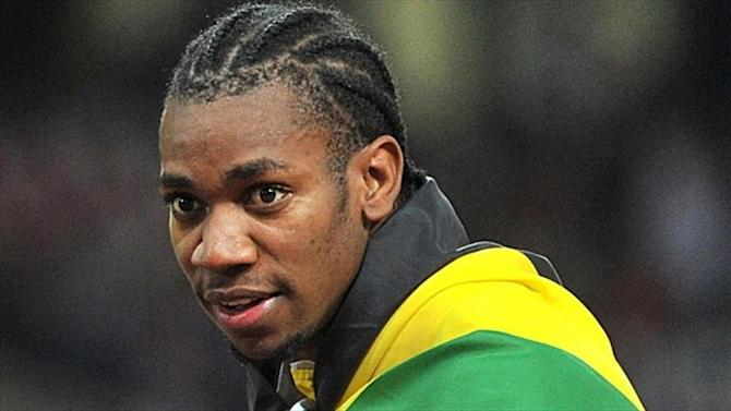 Athletics - Blake back in form, leads Jamaica to 4x100 relay title