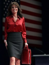 File photo of former Alaska Governor, Sarah Palin at the Conservative Political Action Conference (CPAC) meeting in Washington, DC. John McCain , who lost the election four years ago to Obama, a Democrat, picked Sarah Palin as his running mate, which ired up the Republican Party's conservative base