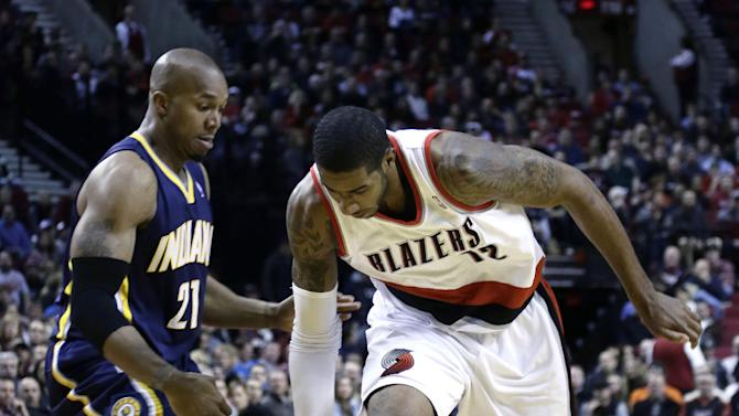 Aldridge, Blazers overcome Pacers 106-102