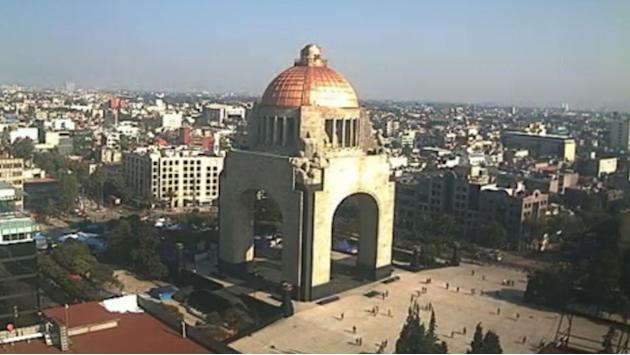 Timelapse Video: 7.4 Earthquake Rattles Mexico City